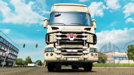 The bumper V8 v2.0 truck Scania for Euro Truck Simulator 2