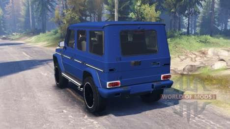 Mercedes-Benz G65 AMG v2.0 for Spin Tires