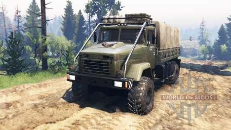 KrAZ-5131ВЕ v4.0 for Spin Tires