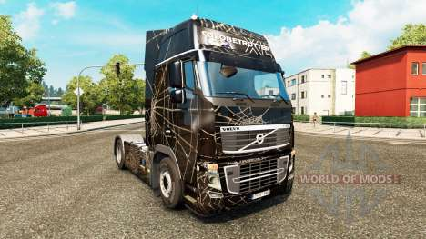 Araignee skin for Volvo truck for Euro Truck Simulator 2