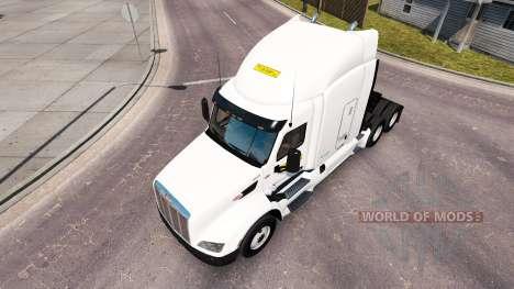 Skin on J. B. Hunt trucks Peterbilt and Volvo for American Truck Simulator