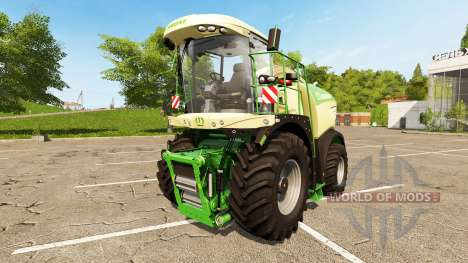Krone BiG X 580 for Farming Simulator 2017