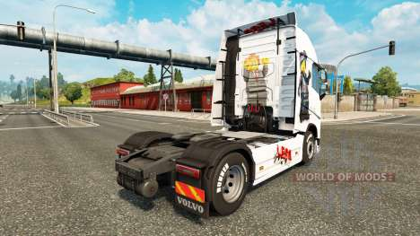 The Lego skin for Volvo truck for Euro Truck Simulator 2