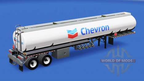 Skin Chevron in the fuel tank for American Truck Simulator