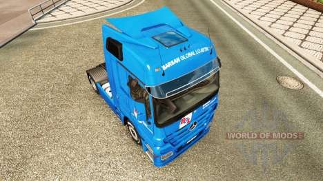Skin BGL for tractor Mercedes-Benz for Euro Truck Simulator 2