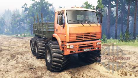 KamAZ-6522 Monster for Spin Tires