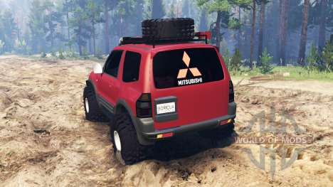 Mitsubishi Pajero 1999 for Spin Tires