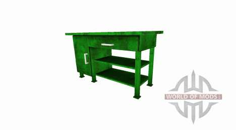 The Cabinet table is for Farming Simulator 2017