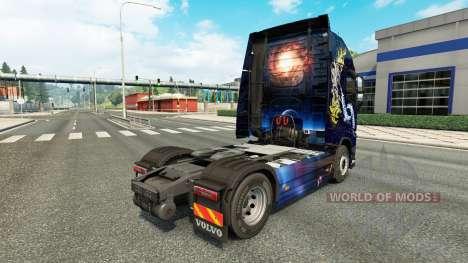 Stylish skin for Volvo truck for Euro Truck Simulator 2