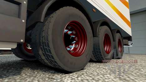 New wheels for trailers for Euro Truck Simulator 2