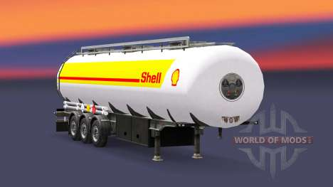 Skin Shell for fuel trailer for Euro Truck Simulator 2