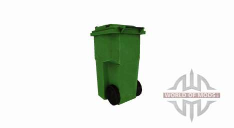 Plastic trash can for Farming Simulator 2017