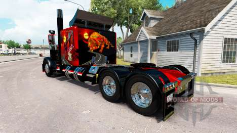 Skin Arizona USA for the truck Peterbilt 389 for American Truck Simulator