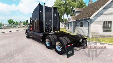 Skin Gallon Oil truck Peterbilt for American Truck Simulator