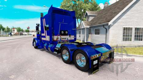 Skin Bad Habit for the truck Peterbilt 389 for American Truck Simulator
