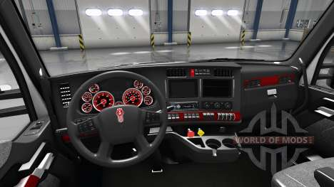Interior Red Dial for Kenworth T680 for American Truck Simulator