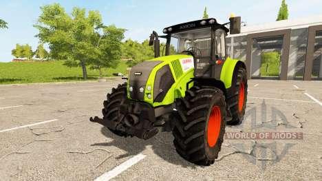 CLAAS Axion 820 for Farming Simulator 2017