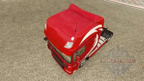 Skin Limited Edition v2.0 truck DAF for Euro Truck Simulator 2