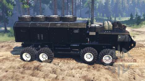 Oshkosh HEMTT M977 Huntsman for Spin Tires