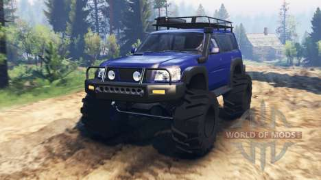 Nissan Patrol v2.0 for Spin Tires