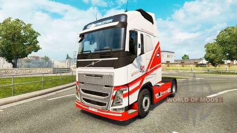 TruckSim skin for Volvo truck for Euro Truck Simulator 2