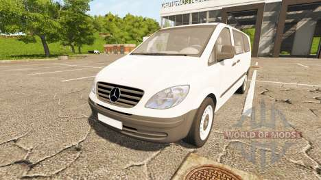 Mercedes-Benz Viano 2005 for Farming Simulator 2017