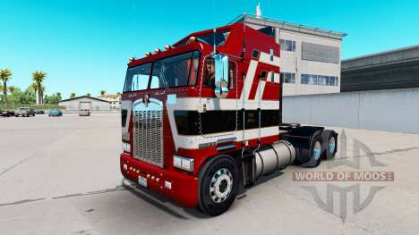 Red Baron skin for Kenworth K100 truck for American Truck Simulator