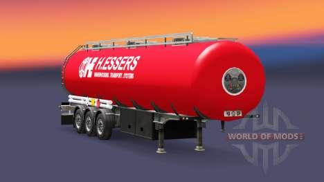 Skin H. Essers fuel semi-trailer for Euro Truck Simulator 2