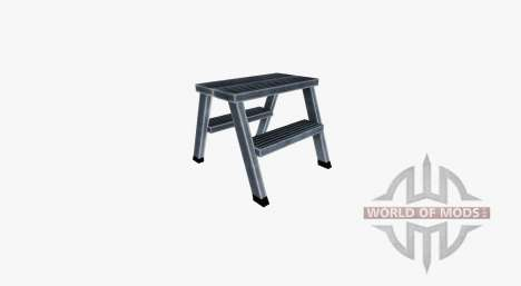 Double sided aluminum ladder for Farming Simulator 2017