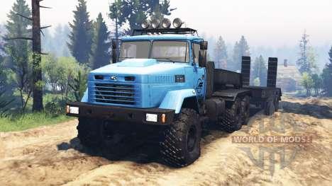 KrAZ-6322 v2.1 for Spin Tires