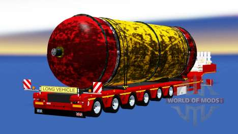 Low sweep with a cargo tank for American Truck Simulator