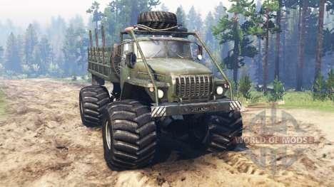 Ural Monster for Spin Tires