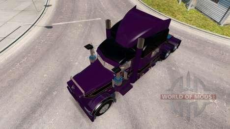 Conrad Shada skin for the truck Peterbilt 389 for American Truck Simulator