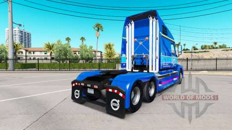Skin Plycool on tractor Volvo VNL 670 for American Truck Simulator