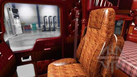 Interior for Kenworth W900 for American Truck Simulator