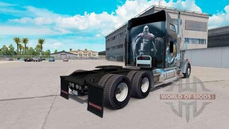 Skin Viking for truck Kenworth W900 for American Truck Simulator