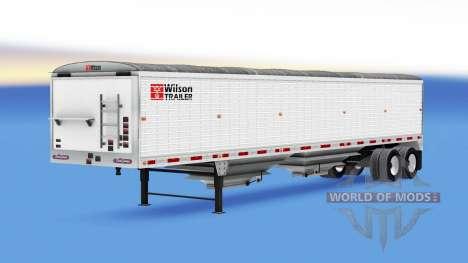 Tipper semi-trailer Wilson for American Truck Simulator