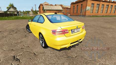 BMW M3 (E92) for Farming Simulator 2017
