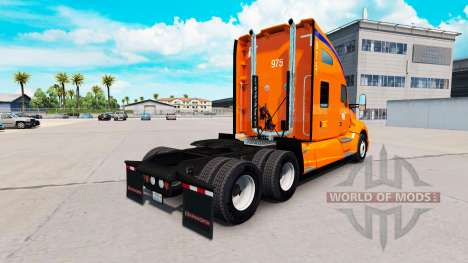 A collection of skins for the Kenworth tractor for American Truck Simulator