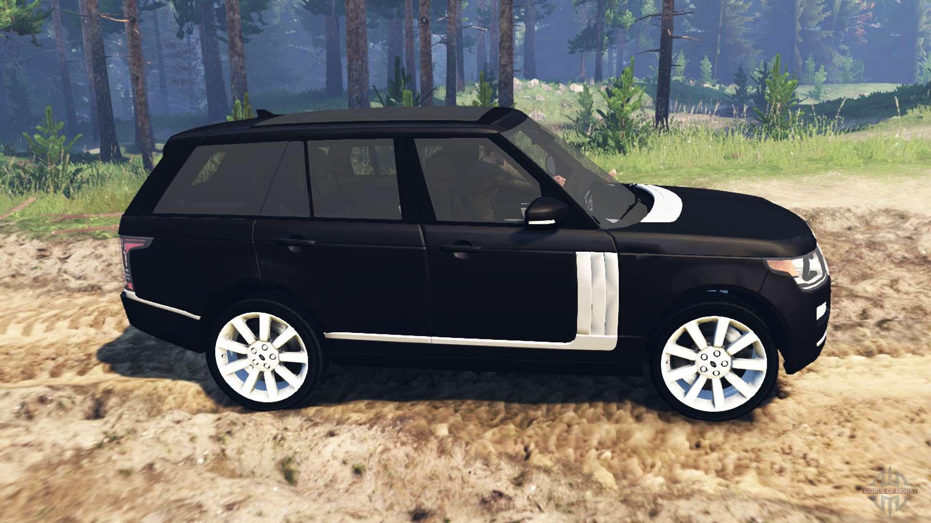 land rover range rover vogue l405 for spin tires. Black Bedroom Furniture Sets. Home Design Ideas