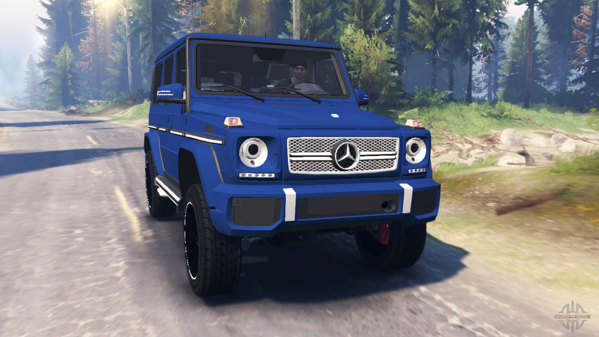 Mercedes benz g65 amg v2 0 for spin tires for Mercedes benz g65