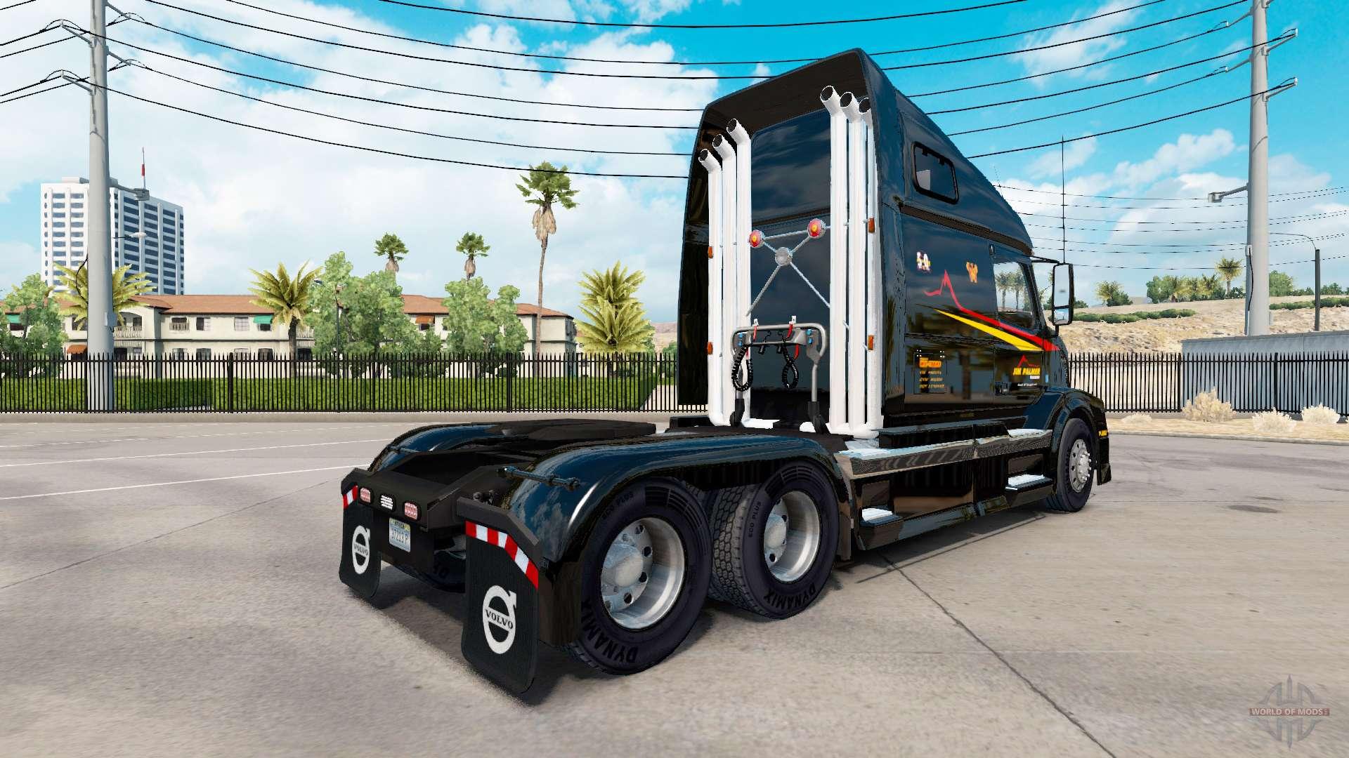 Skin jim palmer on tractors for american truck simulator