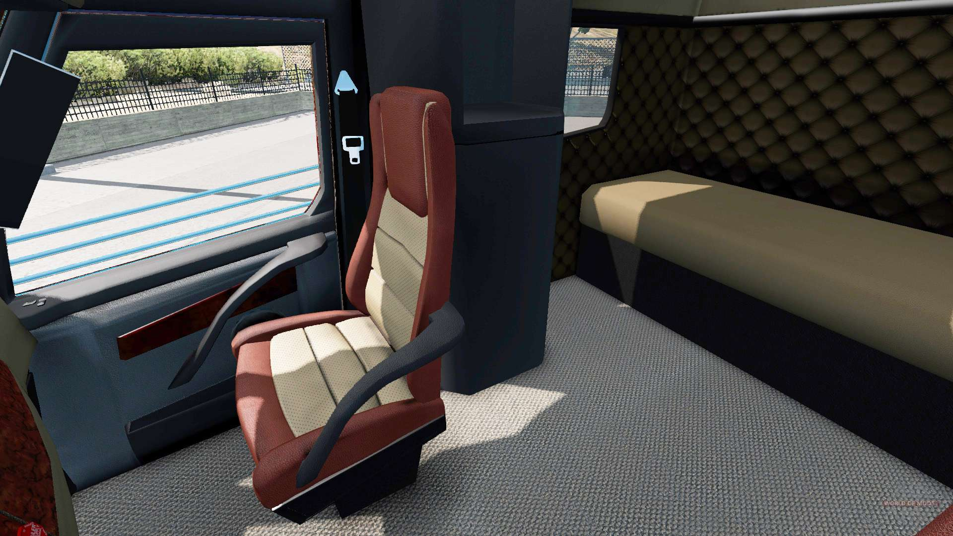 Concept truck 2020 Raised Roof Sleeper for American Truck