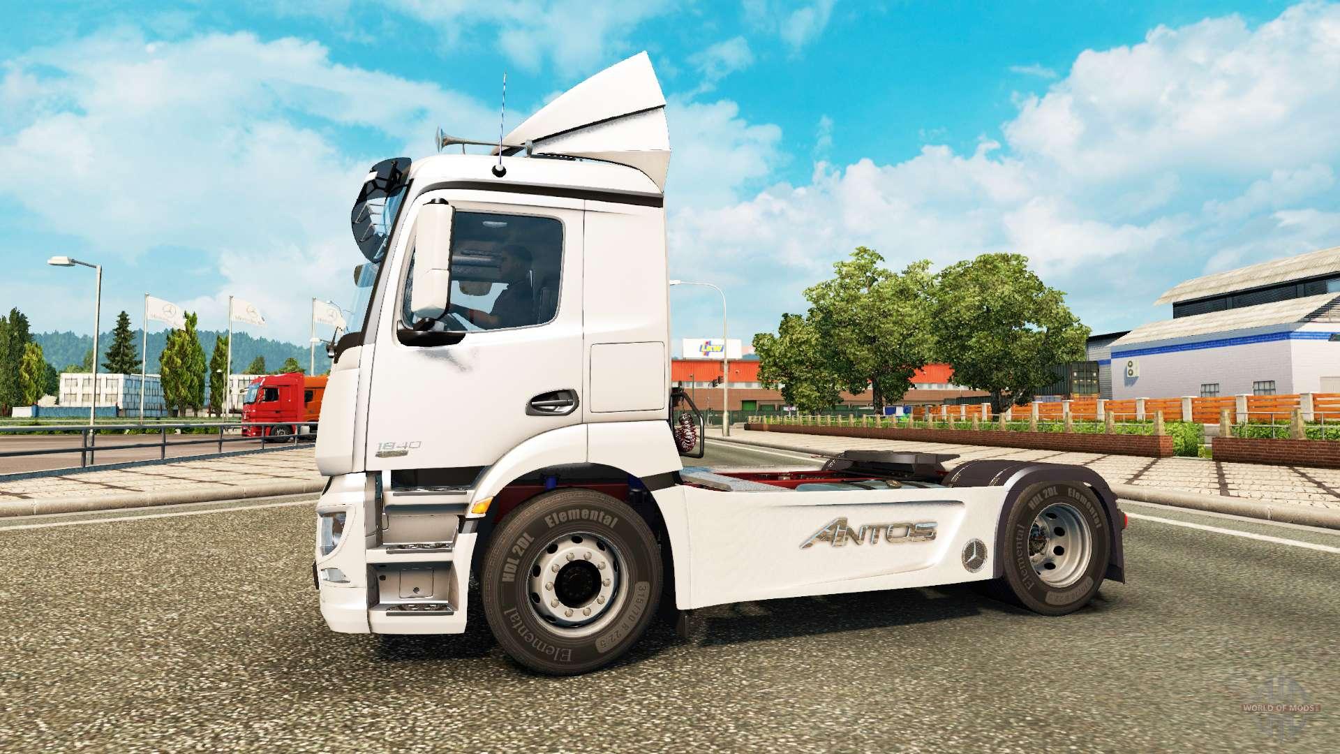 Mercedes benz antos for euro truck simulator 2 for Mercedes benz euro