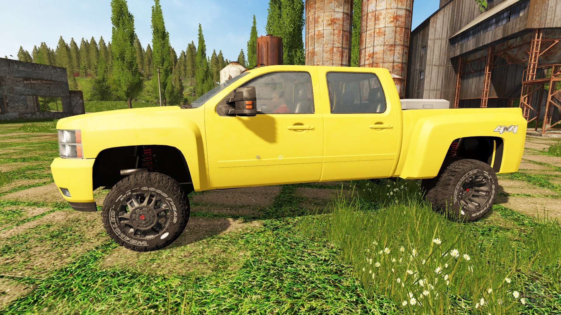 chevrolet silverado 3500 hd for farming simulator 2017. Black Bedroom Furniture Sets. Home Design Ideas