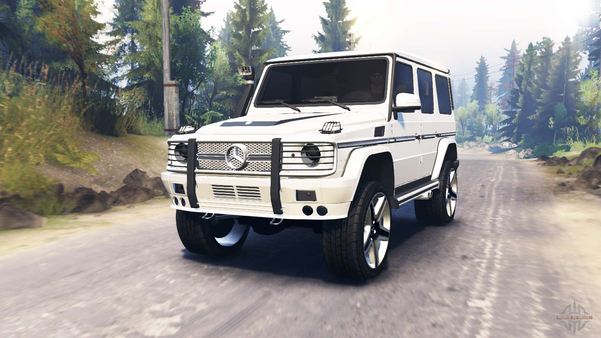 Mercedes benz g65 amg for spin tires for Mercedes benz g65