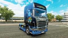 Disaster Transport skin for Scania truck for Euro Truck Simulator 2
