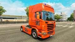 Skin Hazzard v2.0 truck Scania