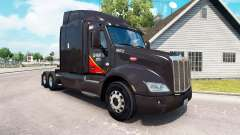 Skin Gallon Oil truck Peterbilt