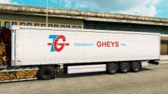 Skin Transport Gheys on semi for Euro Truck Simulator 2